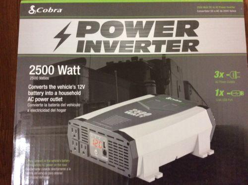 Cobra Power Inverter 2500 Watt