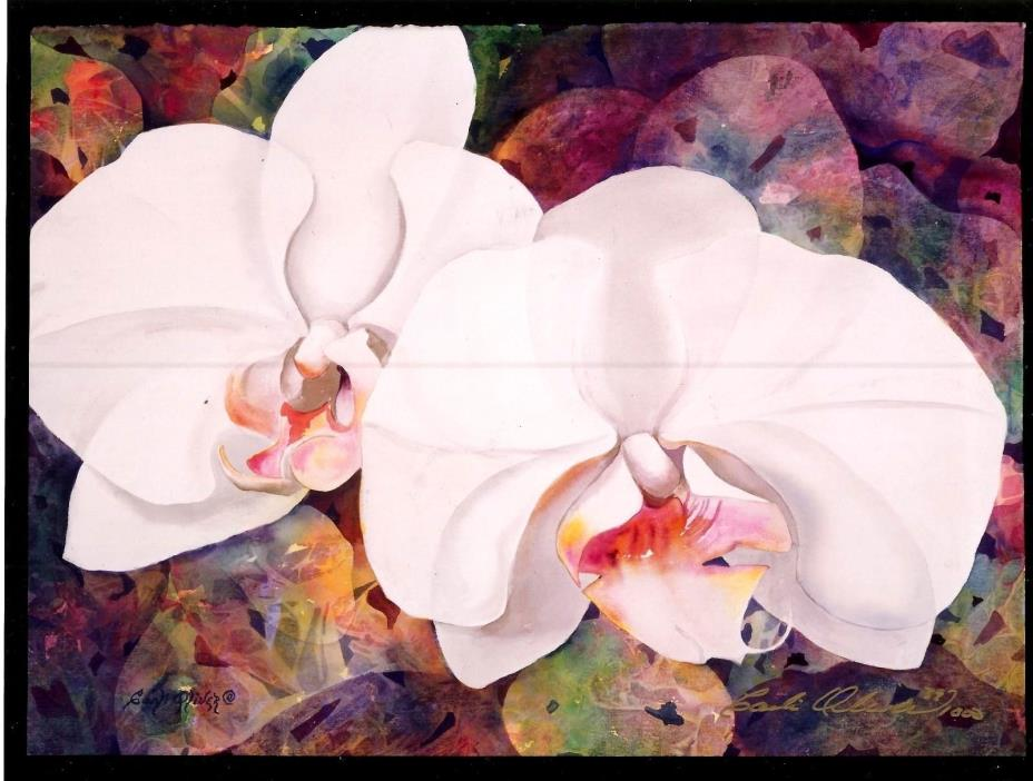 "Carli Oliver ""Optimum Orchid"" – Limited edition 39 Poster Print, Surrealism 8x10"