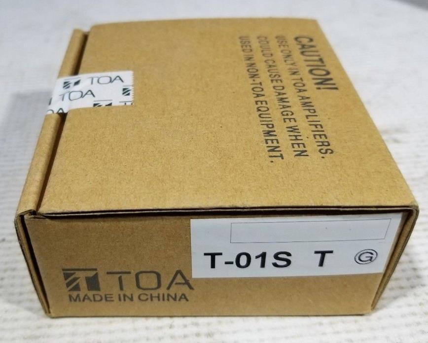 TOA  T-01 Output Module - Series 900 Amplifiers