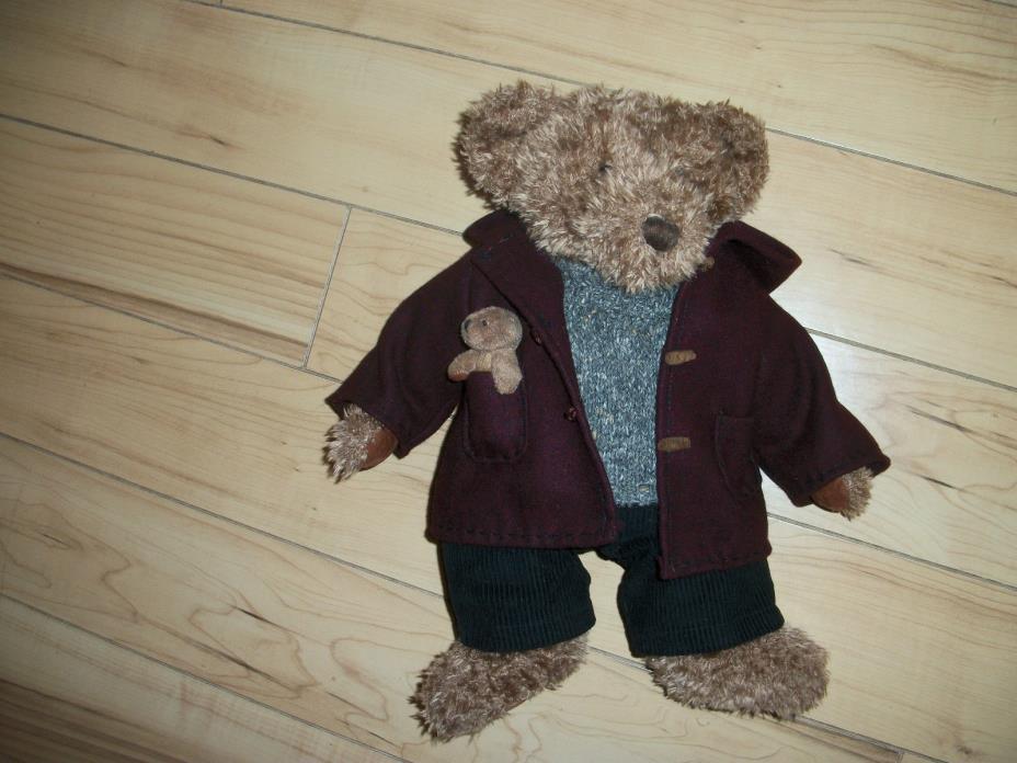 Russ Vintage Collection Bear Plush named Sir Ellwood