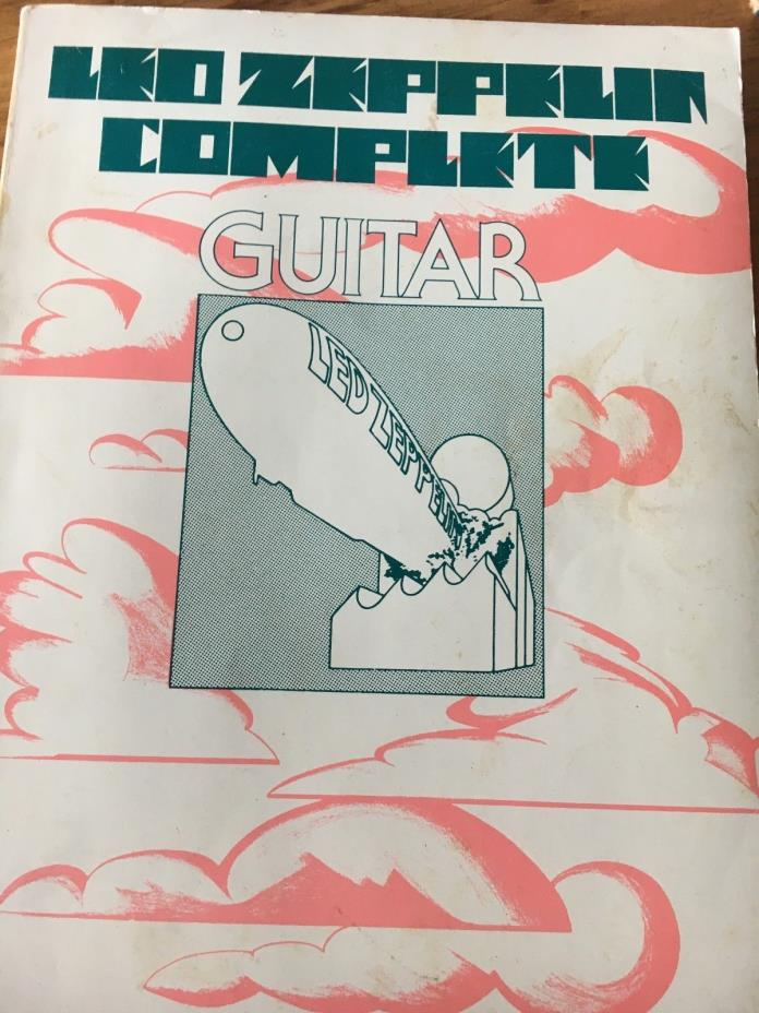 Led Zeppelin Guitar Songbook