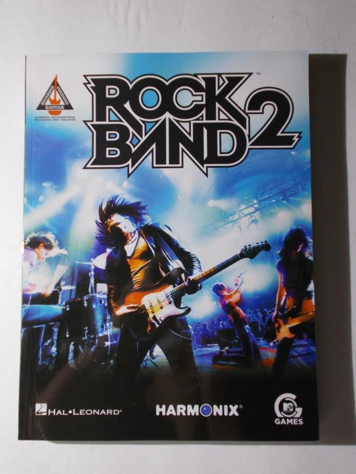* ROCK  BAND 2 -Songbook-  vintage-unused HAL LEONARD-