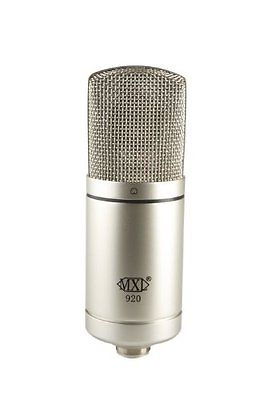 MXL 920  LARGE CAPSULE SOLID STATE CONDENSER MICROPHONE