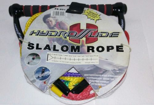 Hydroslide Slalom PS-601 10 Section 75 Foot Rope