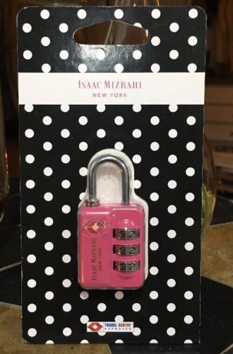 Isaac Mizrahi Travel 3 Dial Combination Lock Luggage Lock
