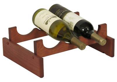 3-Bottles Wine Rack in Mahogany Finish [ID 3175871]