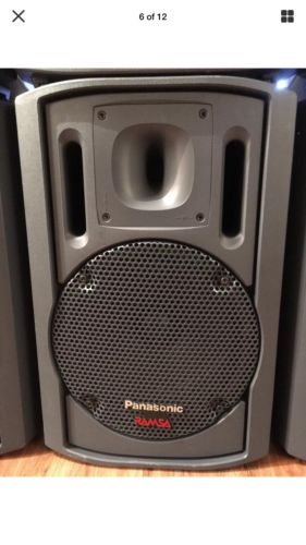 Ramsa Speaker..almost New..99.5% New..very Rare..cheap..4 In Stock