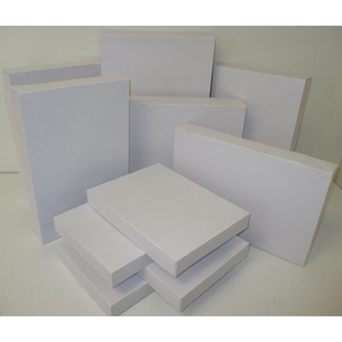 Holiday Time - 10 Pack Assorted Gift Boxes, White