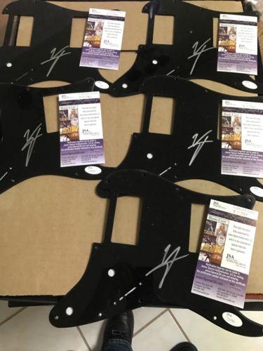 5 Autographed Vince Neil Pickguards JSA Certified You Get 5 Motley Crue Singer