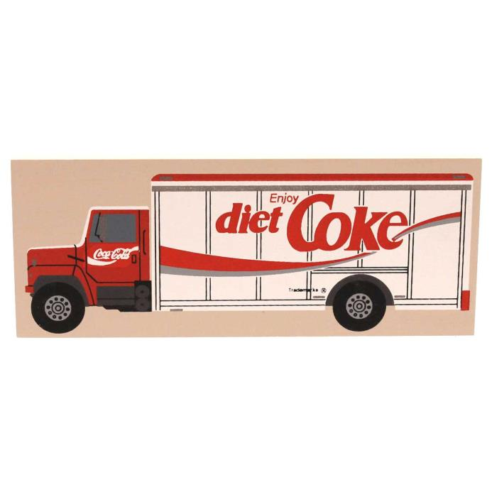 Cats Meow 1988 DIET COKE TRUCK Wood Contemporary  Coca Cola CSTA485