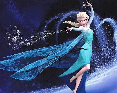 Idina Menzel Autographed 8x10 Photo Frozen (1)