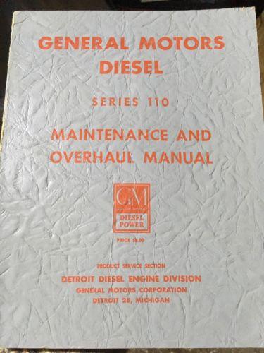 Detroit Diesel Series 110 Manual