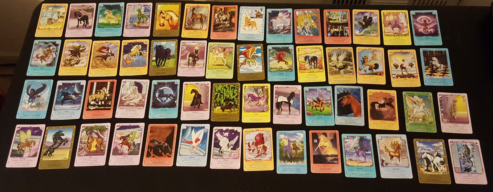 LOT OF ~100 BELLA SARA NON-FOIL USED CARDS