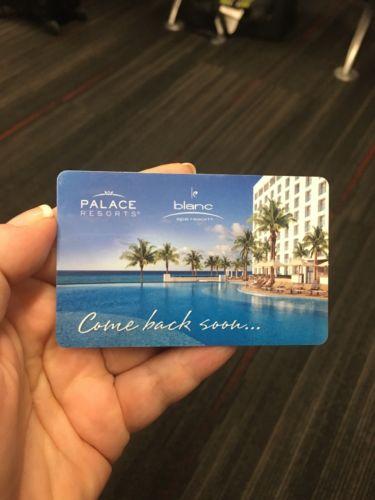 Moon Beach Sun Playacar Jamaica Palace Resort Credits - $1500 - Expire 1/20/19