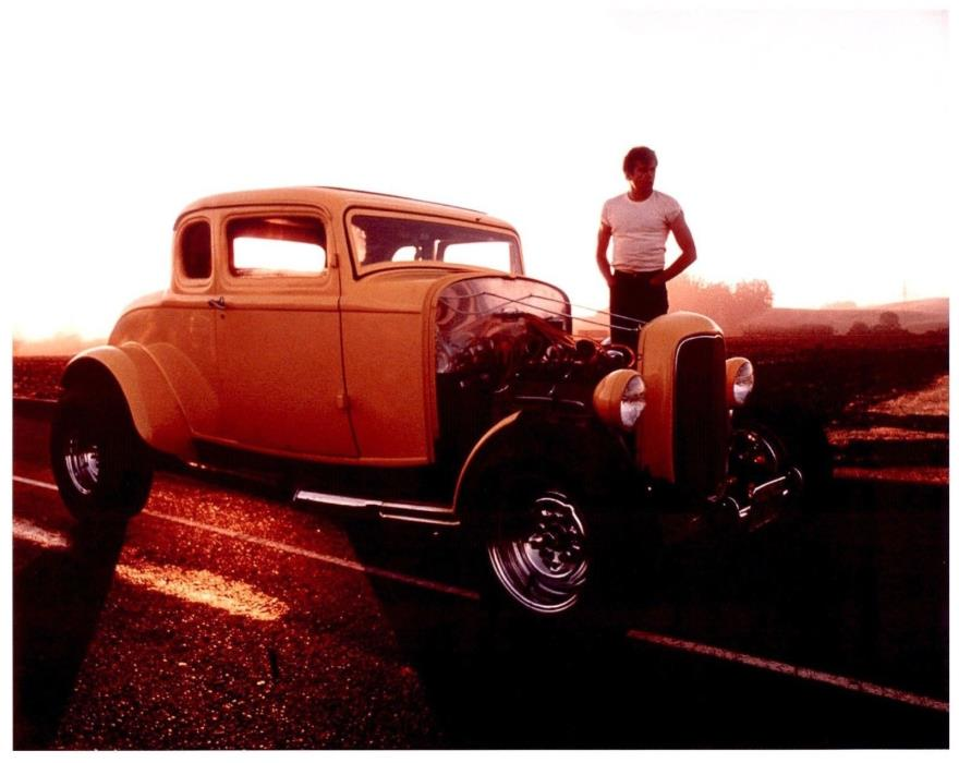 1932 FORD AMERICAN GRAFFITI   8X10 PHOTO  #149