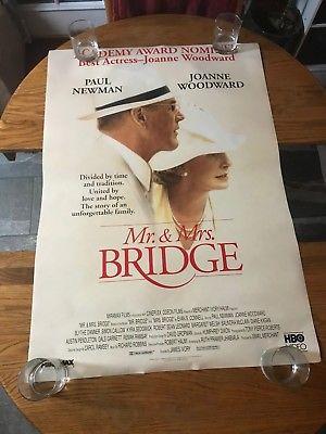 MR & MRS BRIDGE  - VINTAGE MOVIE POSTER!