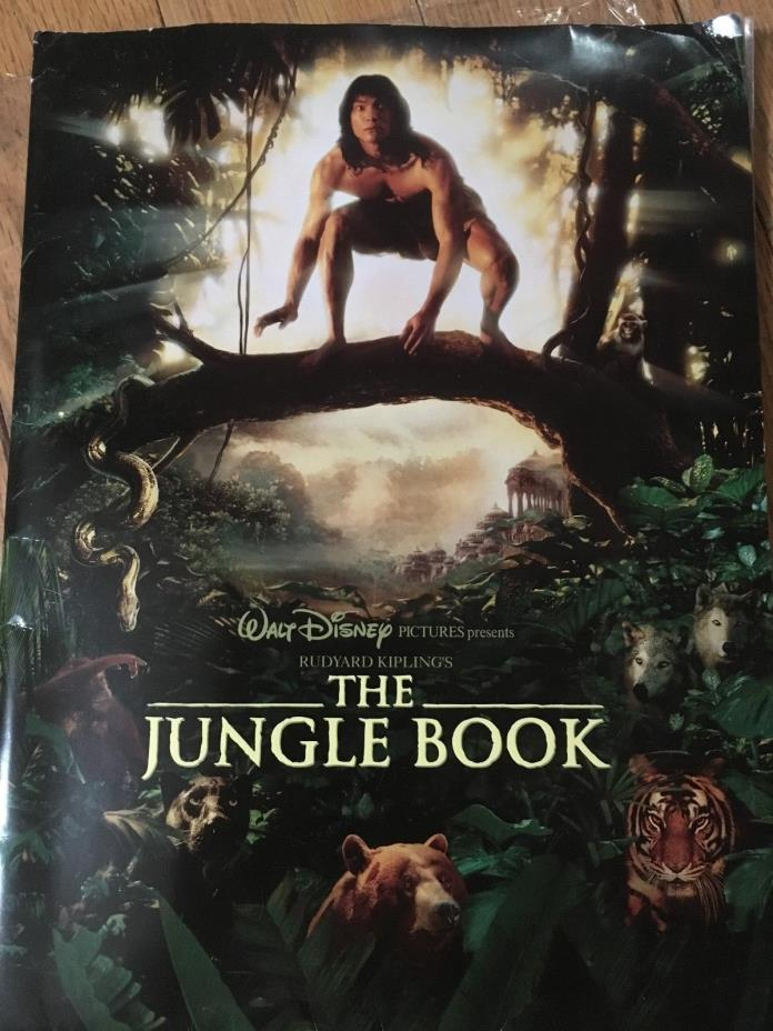WALT DISNEY PICTURES - THE JUNGLE BOOK MOVIE PRESS RELEASE KIT 1994