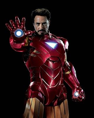 ROBERT DOWNEY JR movie photo print THE AVENGERS, IRON MAN