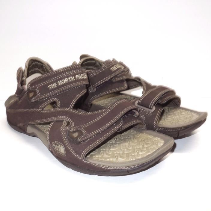 The North Face El Rio Quick Dry Sport Strap Trail Hiking Sandals Men's 13 Brown