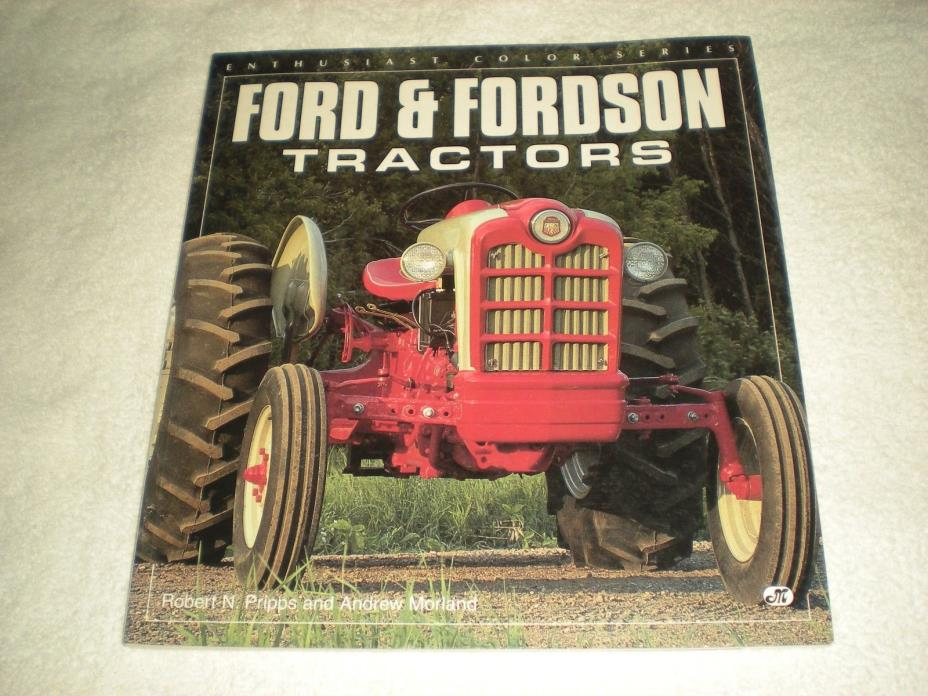 Ford & Fordson Tractors Motorbooks International Color Series 1995