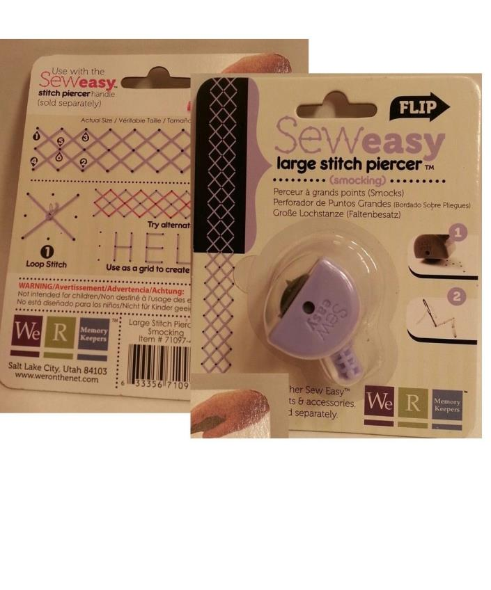 We R Memory Keepers Sew EasySMOCKING Large Stitch Piercer NEW!!!