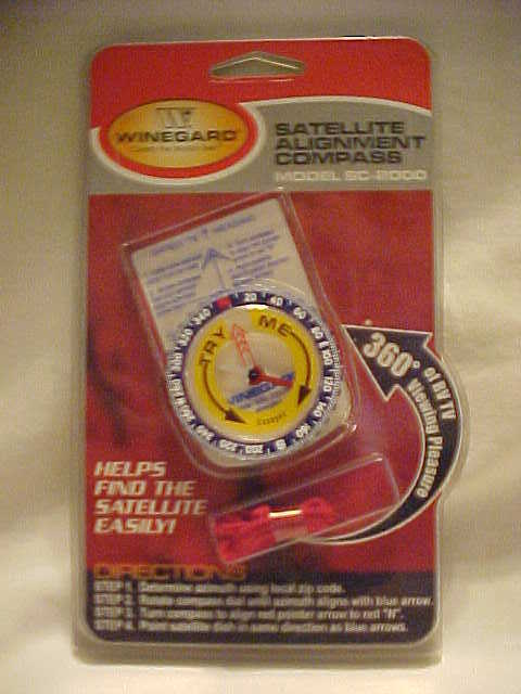New Winegard Satellite Alignment Compass Model SC-2000 factory sealed new