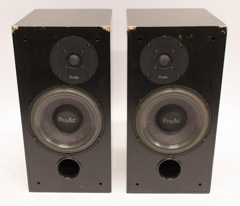 ProAc Studio 100 Professional Recording Studio Bookshelf Speaker Monitors