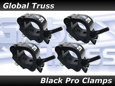 Global Truss Pro Clamp (4 pack) BLACK - New in the box! Ships Same Day!!!