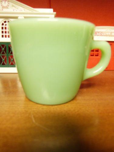 Vintage Fire King Jadeite Restaurant Ware Cup C handle
