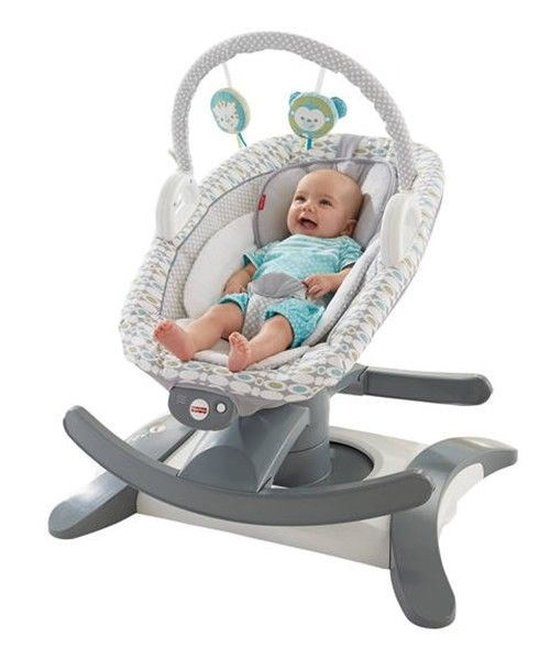 Fisher Price Vibrating Bassinet Soother Sleeper Swing Rocker Glider Dual Motions