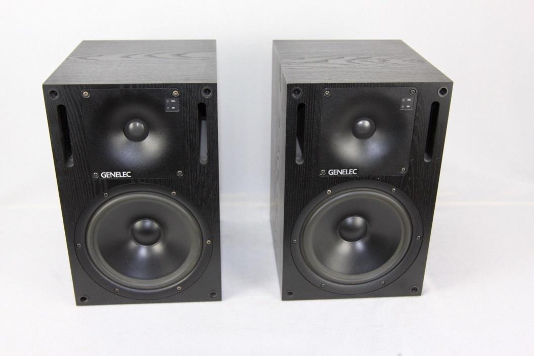 Genelec 1031 A Bi-Amp studio monitors (pair)