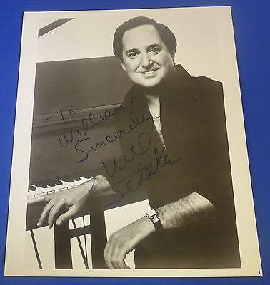 NEIL SEDAKA signed autographed 8 x10 photo