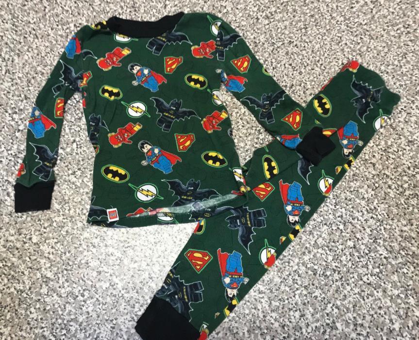 Lego Super Heros Boys PJ's size 4T