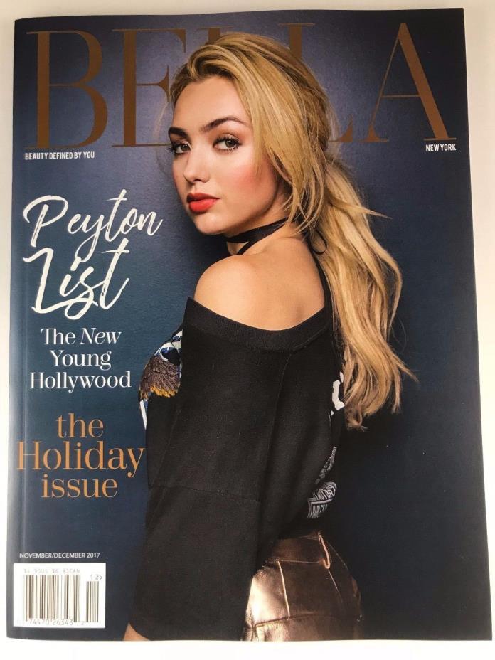 Payton List cover Francesca Curran Pia Toscano Linda Gray Lacey Chabert Bella NY