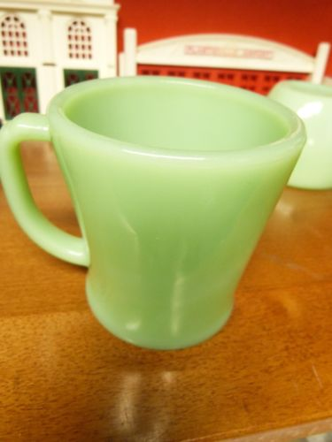 Vintage  Fire King Jadeite  Cup D handle