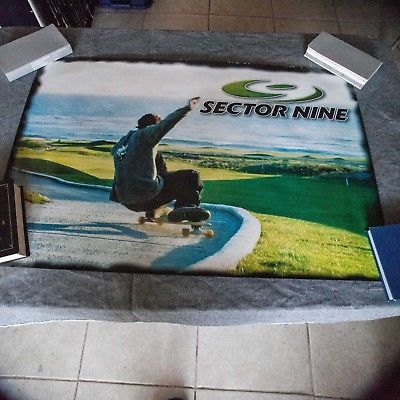 Sector 9 Skateboard poster 34 3/4 by 23 1/2