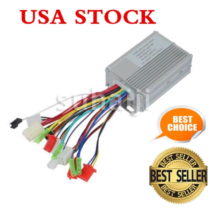 New 36V/48V 350W Electric Bicycle E-bike Scooter Brushless DC Motor Controller