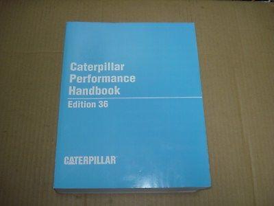 Caterpillar Performance Handbook Edition 36  2006