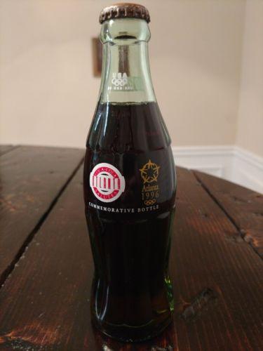 Coca Cola salutes Atlanta 1996 Olympics Commemorative Bottle Atlanta coke full
