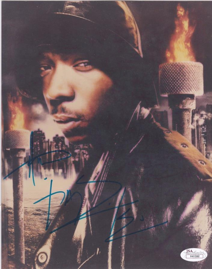 JA RULE Signed 8x10 Photo Autographed COA JSA Certified Rapper Actor