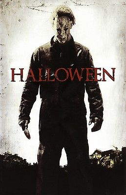 Halloween movie poster print  : 11 x 17 inches - Michael Myers (style e)