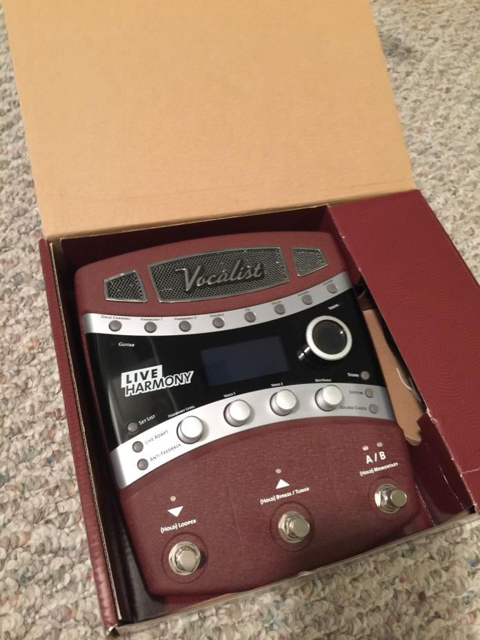 Digitech Vocalist Live Harmony (barely used)