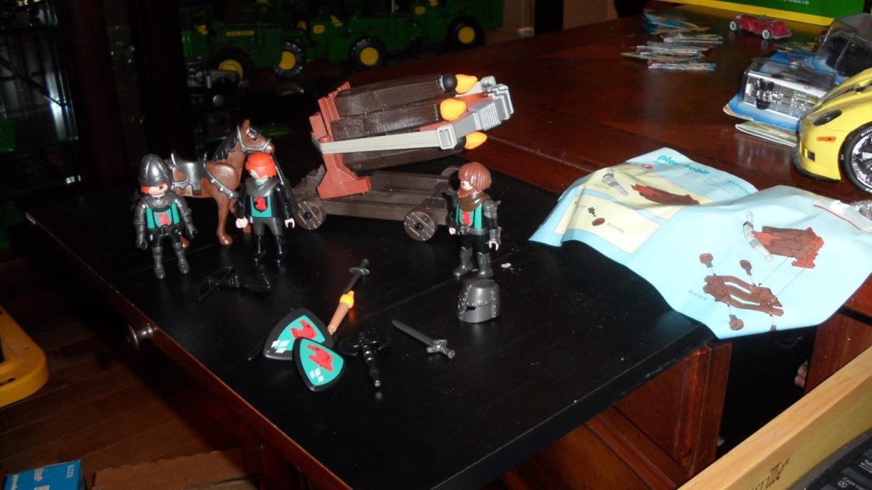 Playmobil 4868 Falcom Knights Multi Firing Cross bow Playset RARE