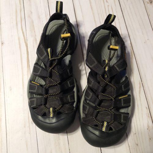 Keen Waterproof Men Black Fisherman Sport Sandal Shoe 15M Pre Owned #NH