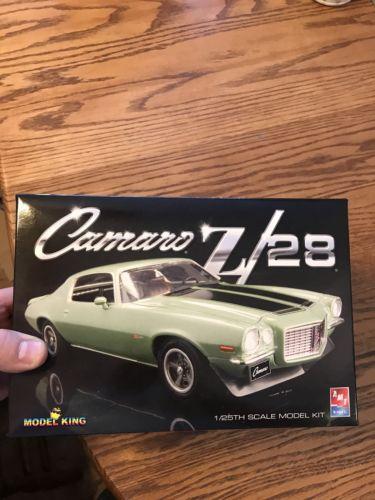 1/24 Drag Slot Car Jig Built Tall Tire Inline 1970 Z28 Camaro