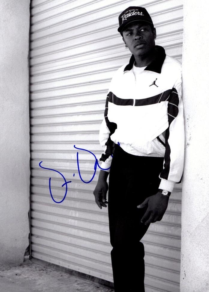 Dr Dre Autographed 11x14 Photograph NWA Producer Hip Hop Rap Legend Compton COA