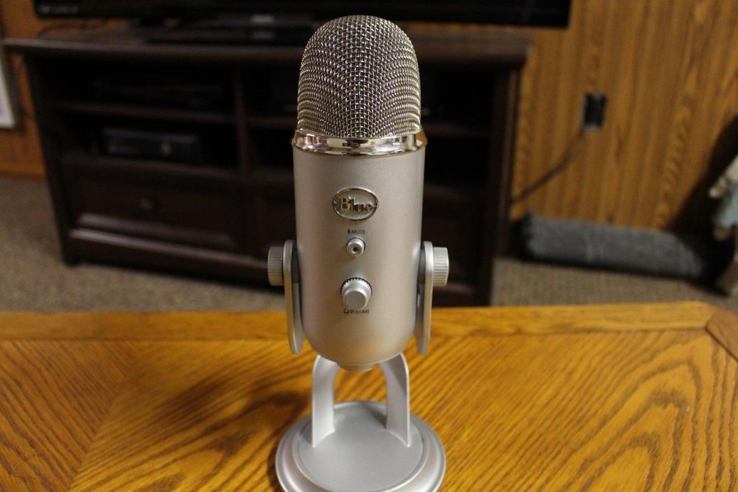 Blue Yeti Professional USB Condenser Microphone (Not Working)
