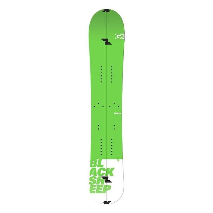 G3 Black Sheep Splitboard 158cm