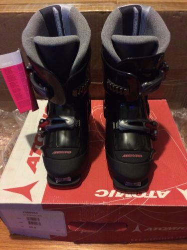 NEW! Atomic Ski Boots.  Juniors Size 1 US.  (iX 2 Black) Free Shipping!