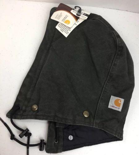 Carhartt Women's Hood Sandstone Quilt Lined A149 Button lined DK Green NWT (B23)